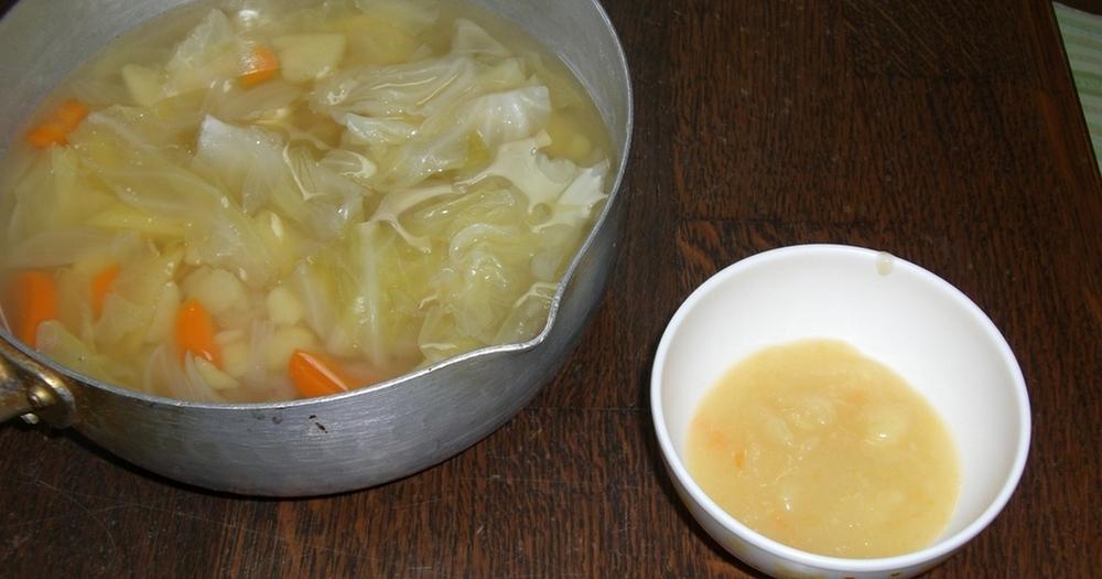 ☆離乳食☆初期から使える簡単野菜スープ
