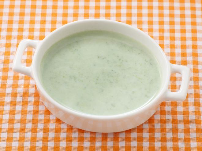 ほうれん草のミルク煮|離乳食レシピ